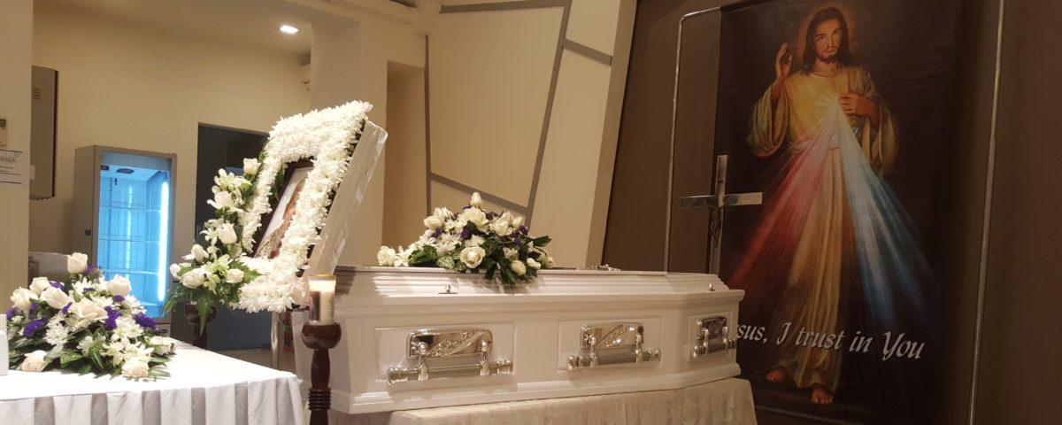 Catholic Funeral Setup