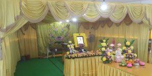 Buddhist Funeral Setup